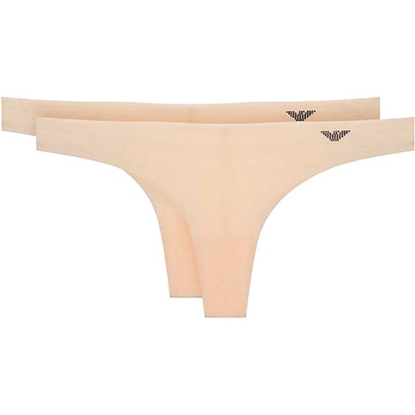 Tanga de Mujer Emporio Armani 163334-7A285-9670 (Pack de 2)