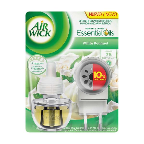 Air Wick White Bouquet Elektromos Légfrissítő és Utántöltő