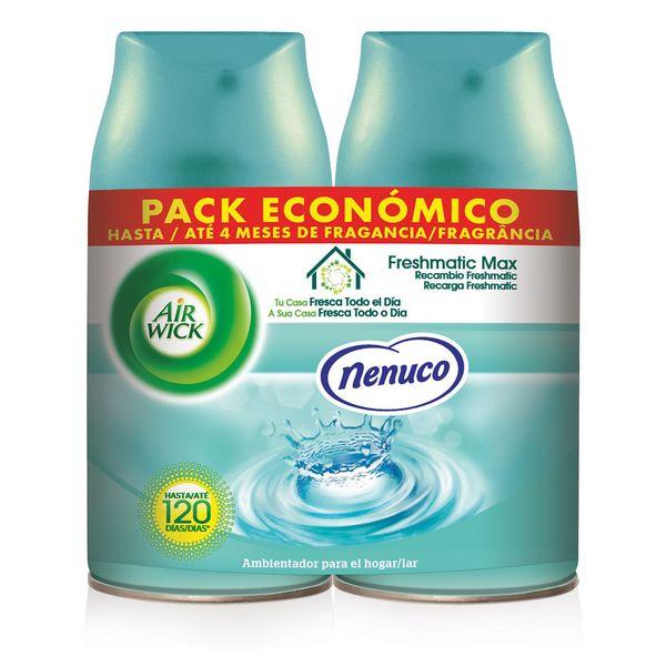 Air Wick FreshMatic Dupla Nenuco Légfrissítő Utántöltő 2 x 250 ml