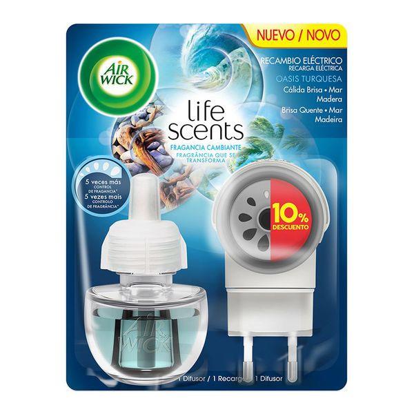 Air Wick Life Scents Türkiz Oázis Elektromos Légfrissítő