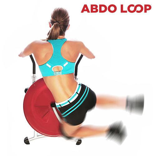 Abdo Loop Körkörös Hasizomerősítő Gép