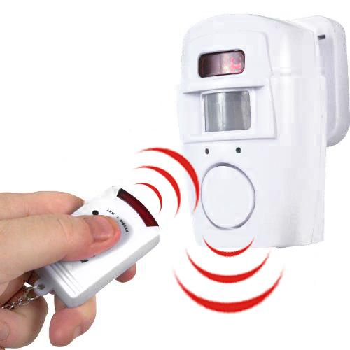 Alarma con Sensor de Movimiento y 2 Mandos D4015147
