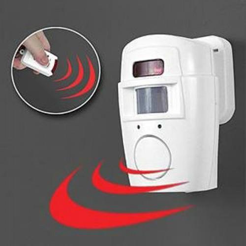 Motion Sensor<br> Alarm with 2<br>Remote Controls