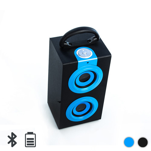 Altavoz Bluetooth Vertical Azul I3505209