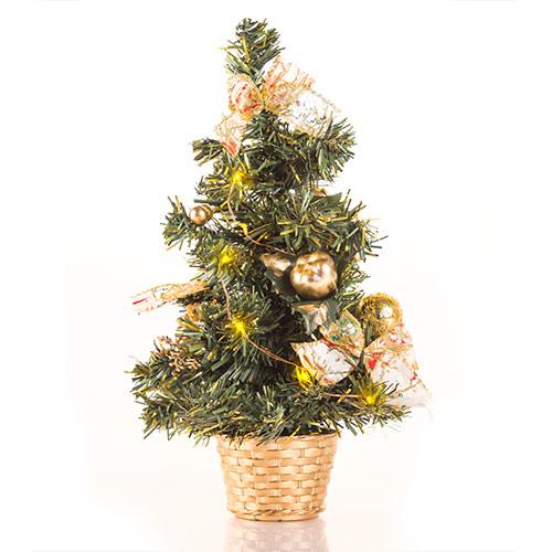 Arbol de Navidad LED Pequeño con Adornos H2500196