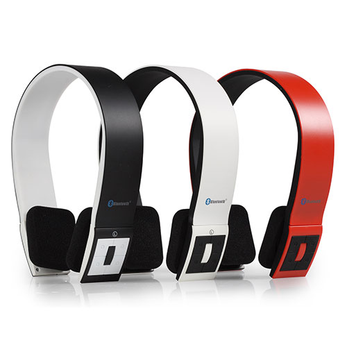Auriculares Bluetooth AudioSonic HP1642 Rojo I3505197
