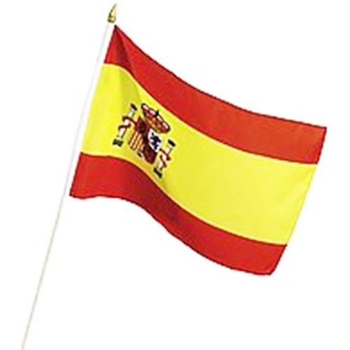 Bandera de España con Asta (60 x 90 cm) H2500128