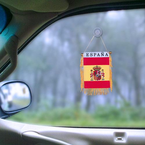 Banderin de España con Ventosa H2500168