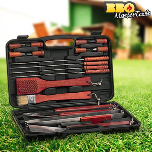 Maletin para Barbacoas BBQ Master Tools (18 piezas) B1530174