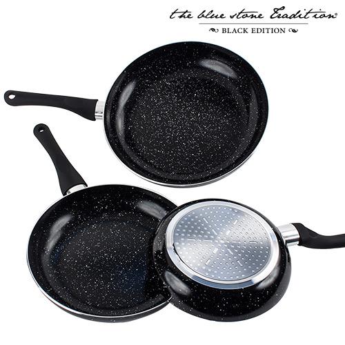 Sartenes con Revestimiento de Piedra Black Stone Pan (3 piezas) B1015145
