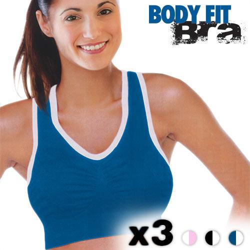Sujetadores Deportivos Body Fit Bra (pack de 3) M F1010150