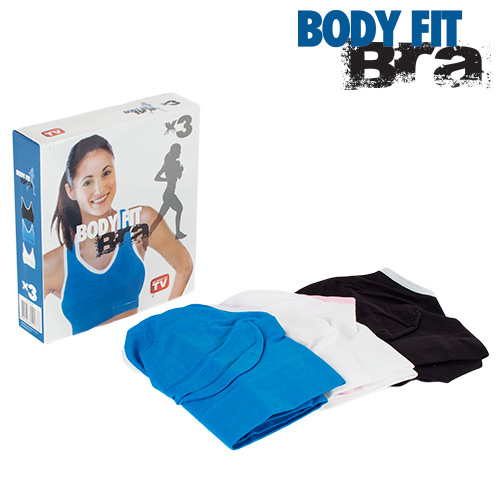 Sujetadores Deportivos Body Fit Bra (pack de 3) (3)