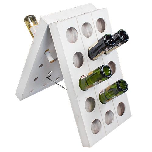 Botellero de Madera Vintage para Vino B0520158
