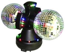Bola de Discoteca Doble con Espejos H2500104