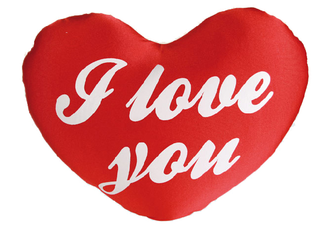 Corazon de Lycra I Love You (33 cm) H2000120