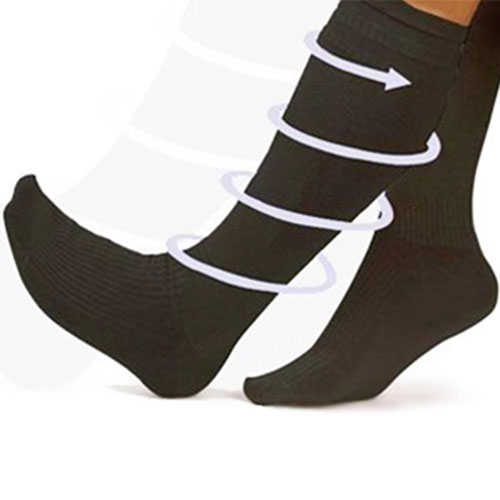 Calcetines Relax y Anti Fatiga Blanco Mujer 36 a 43 F1015126
