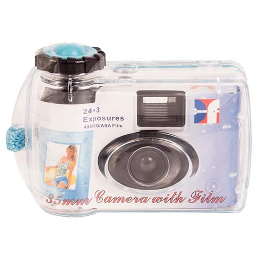 Disposable<br>Underwater Camera