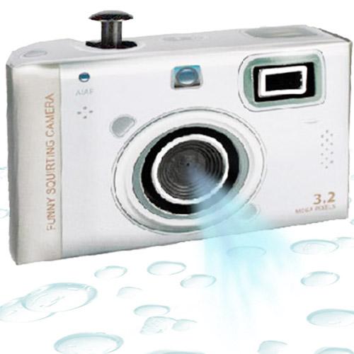 Fotoaparat z Vodnim Curkom