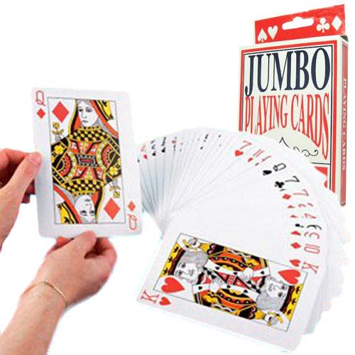 Cartas de Poker Grandes H4525100