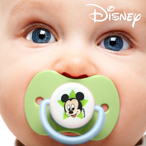 Chupetes de Silicona Mickey (pack de 2) H4502050