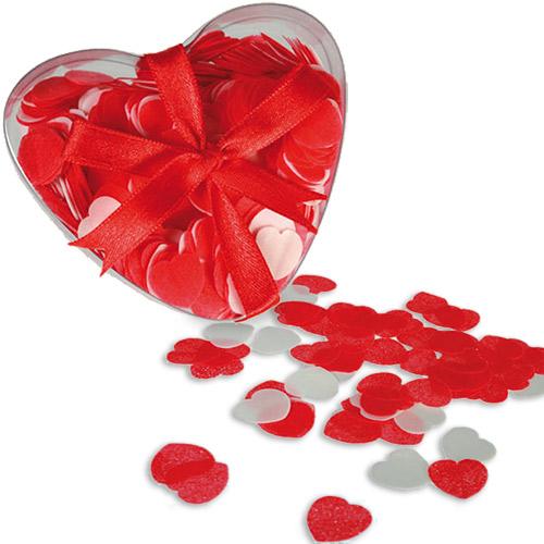Nagy szív alakú konfetti fürdővízhez