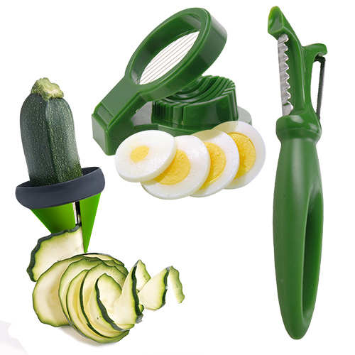 Kitchen Utensils<br> for Vegetable<br>Garnishing (3 piece