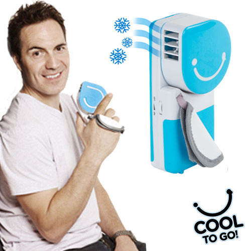 Aire Acondicionado Portatil Cool to Go! Rosa D2010115