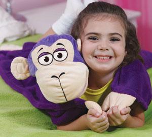 Odeja za Otroke za Crkljanje CuddleUppets - Slon