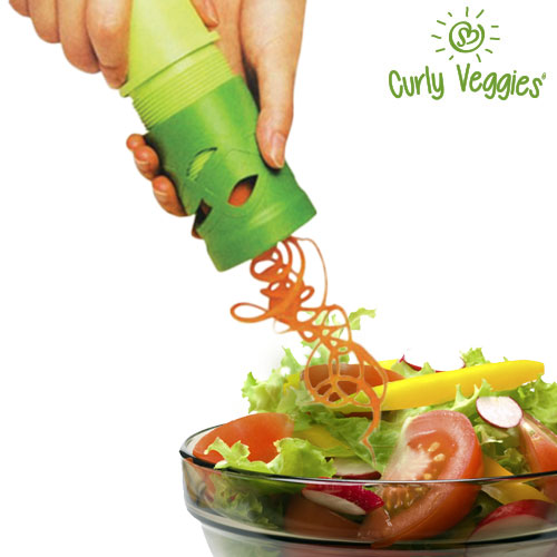 Curly Veggies<br>Vegetable Mincer
