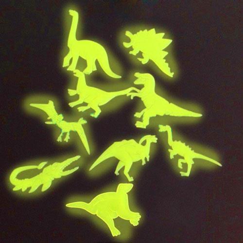 Dinozavri, ki se Svetijo v Temi