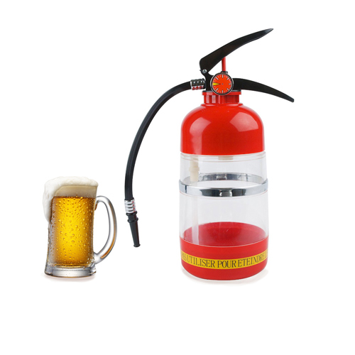 Fire Extinguisher<br>Drinks Dispenser