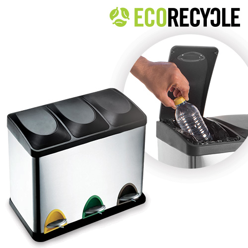 Papelera de Reciclaje Eco Recycle B1020145