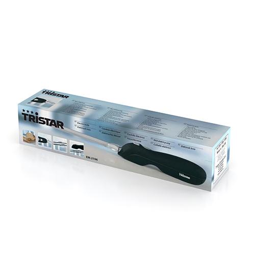 Cuchillo Electrico Cuchillas de Acero Inox | Tristar EM2106 B1565132