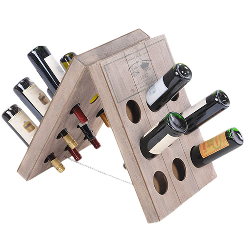 Botellero de Madera para Vino B0520157