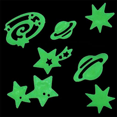 Sötétben Világító Csillagok és Bolygók