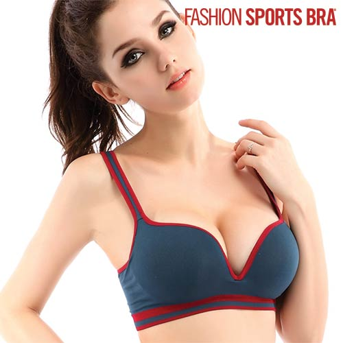 Sujetador Fashion Sports Bra Azul Marino M F1010175