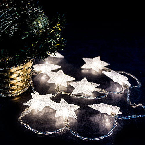 Guirnalda de Luces Estrellas H2500191
