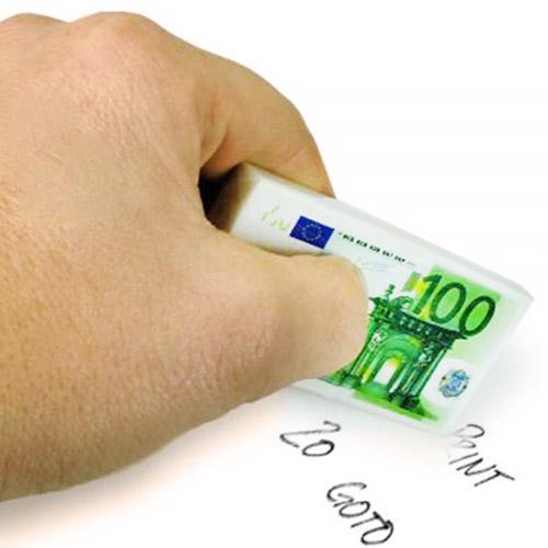 Goma de Borrar 100 Euros H4530121