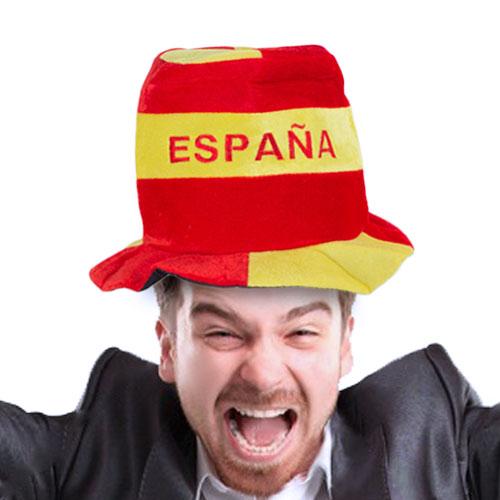 Gorro I Love Spain con Bandera de España H2500137