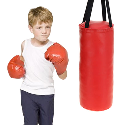 Saco de Boxeo con Guantes para Niños H4530226