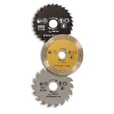 Pack de 3 discos para Sierra Circular