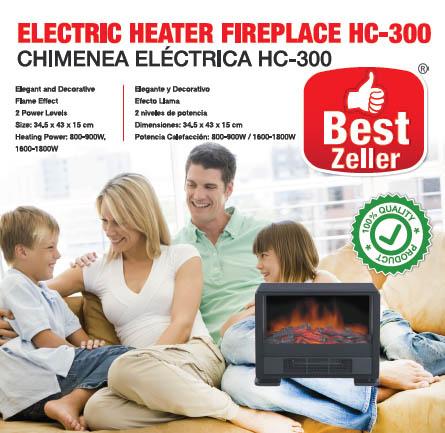 Chimenea Electrica Best Zeller HC300 D2005109