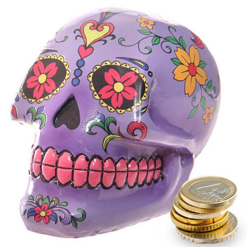 Hucha Calavera Dia de los Muertos H3515168