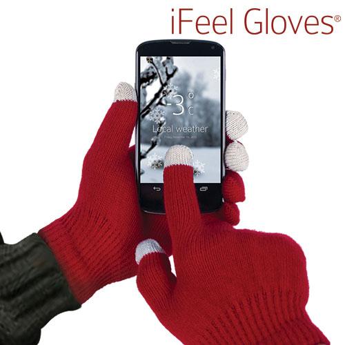 Guantes iFeel Gloves para Pantallas Tactiles Negro I4115003