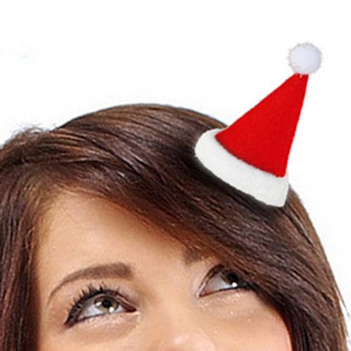 Horquilla para Pelo Gorro Papa Noel H2500187