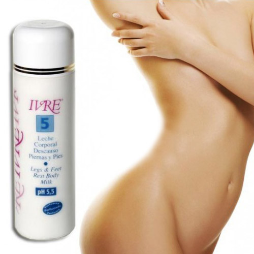 Body Milk IVRE 5 Piernas y Pies Cansados 500ml