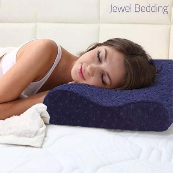 Almohada Viscoelastica con Funda Jewel Bedding F1505137