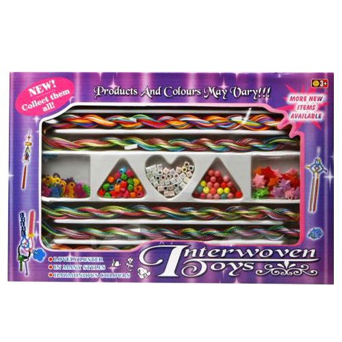 Set Manualidades Belleza Interwoven Toys H4530001