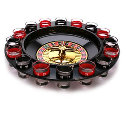 Juego Chupitos Ruleta Drinking Roulette Set H4510111