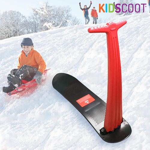 Patinete de Nieve KidScoot Snowboard Rojo H4520108